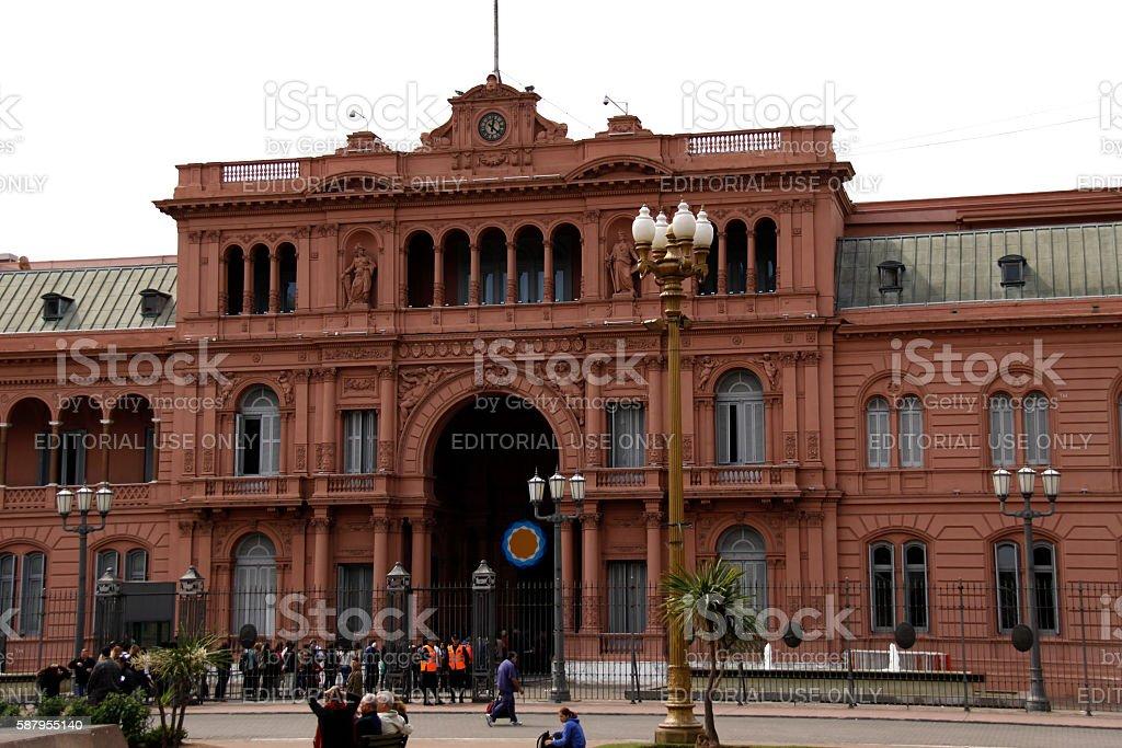 Casa Rosada stock photo