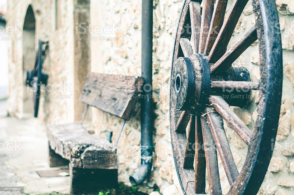Casa rural stock photo