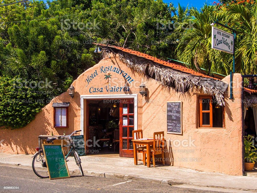 Casa Valeria in Sosua, Dominican Republic stock photo