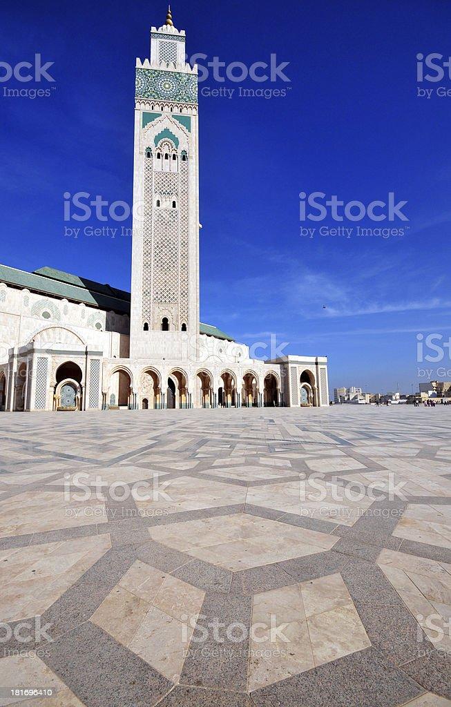 Casablanca, Hassan II mosque stock photo