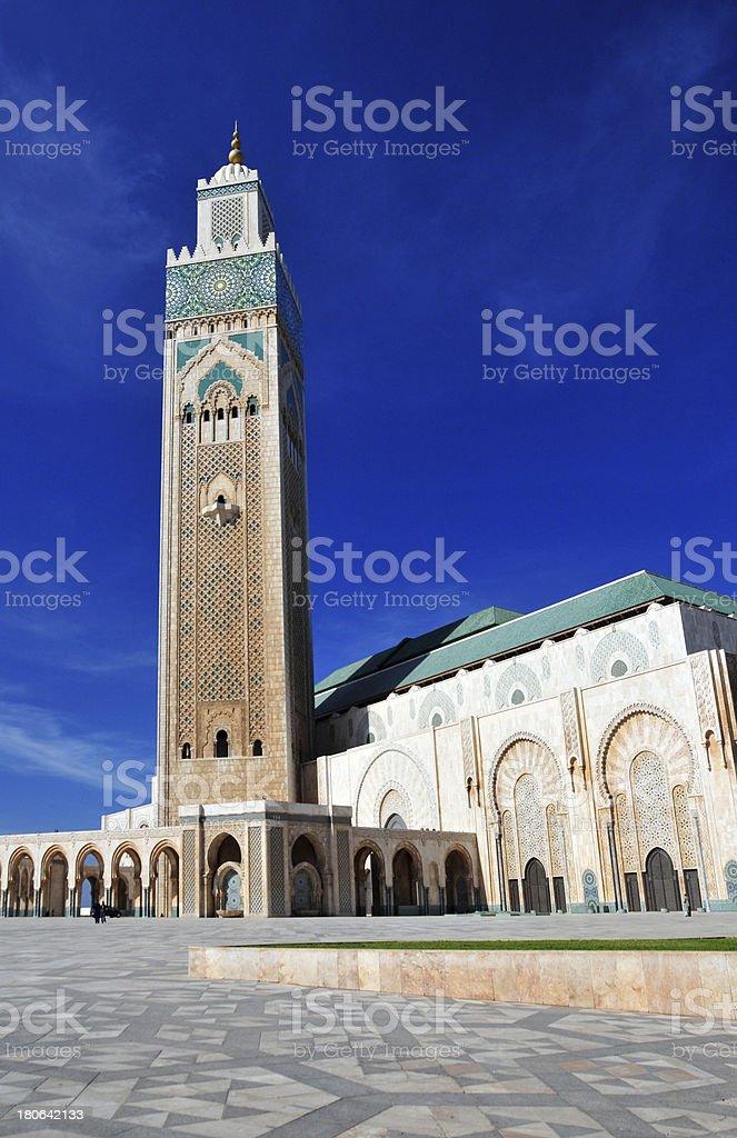 Casablanca, Morocco: Hassan II mosque stock photo