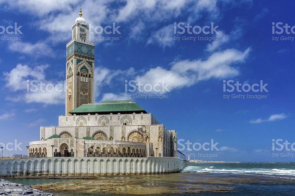 Casablanca Mosque stock photo