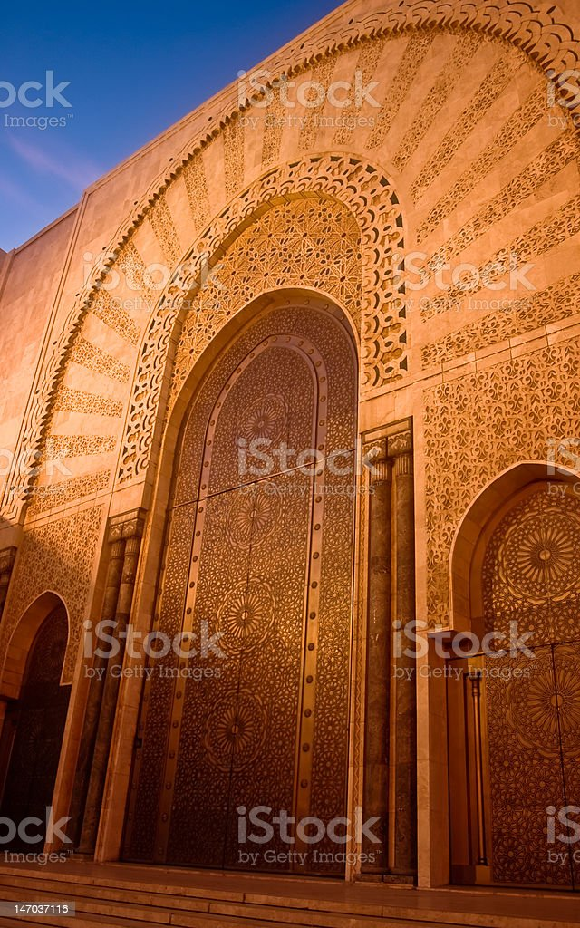casablanca royalty-free stock photo