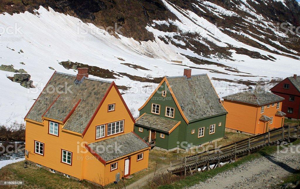 Casas stock photo