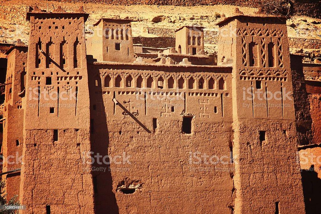 Casbah Aït Benhaddou royalty-free stock photo