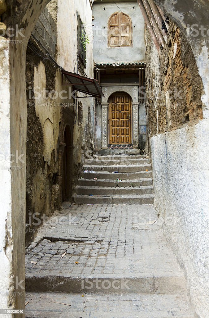 Casbah in Algiers royalty-free stock photo