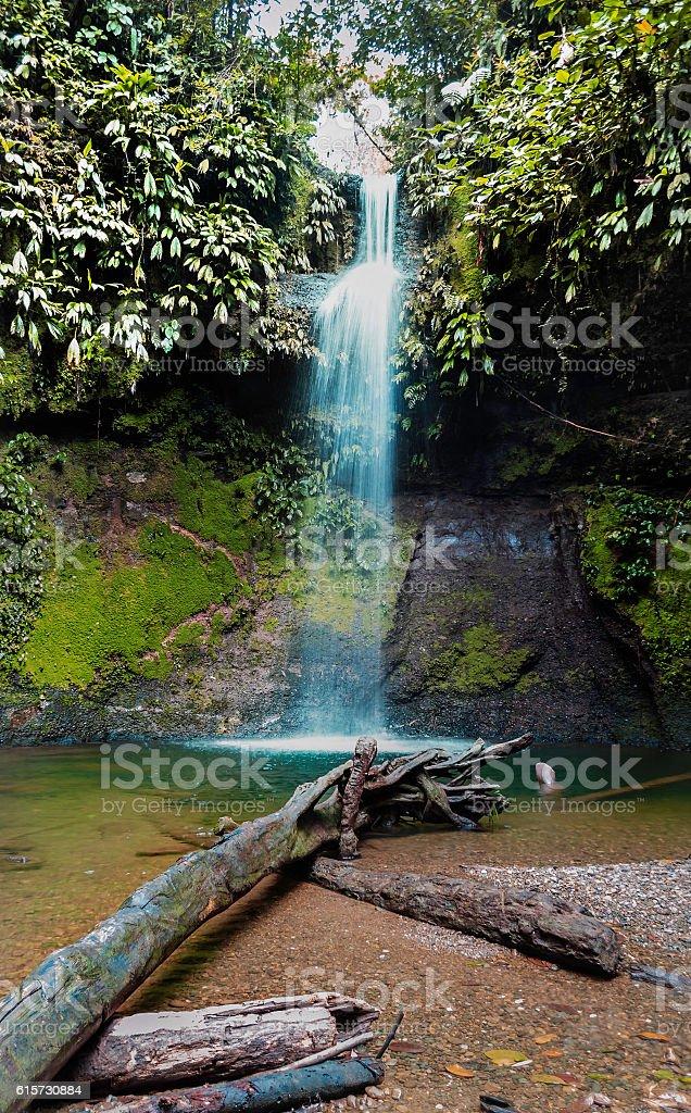 Cascada la Venteadora, San cripriano. stock photo