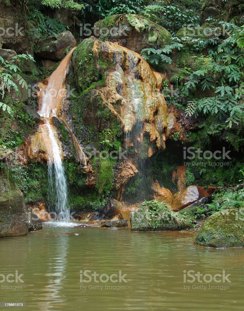 cascade at the Azores stock photo