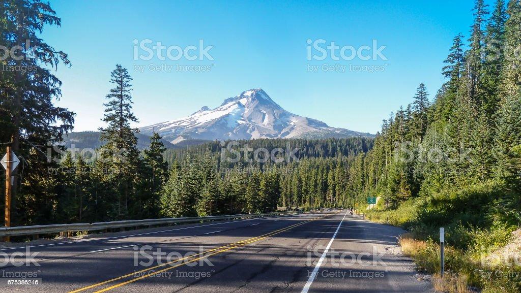Cascade Climb stock photo