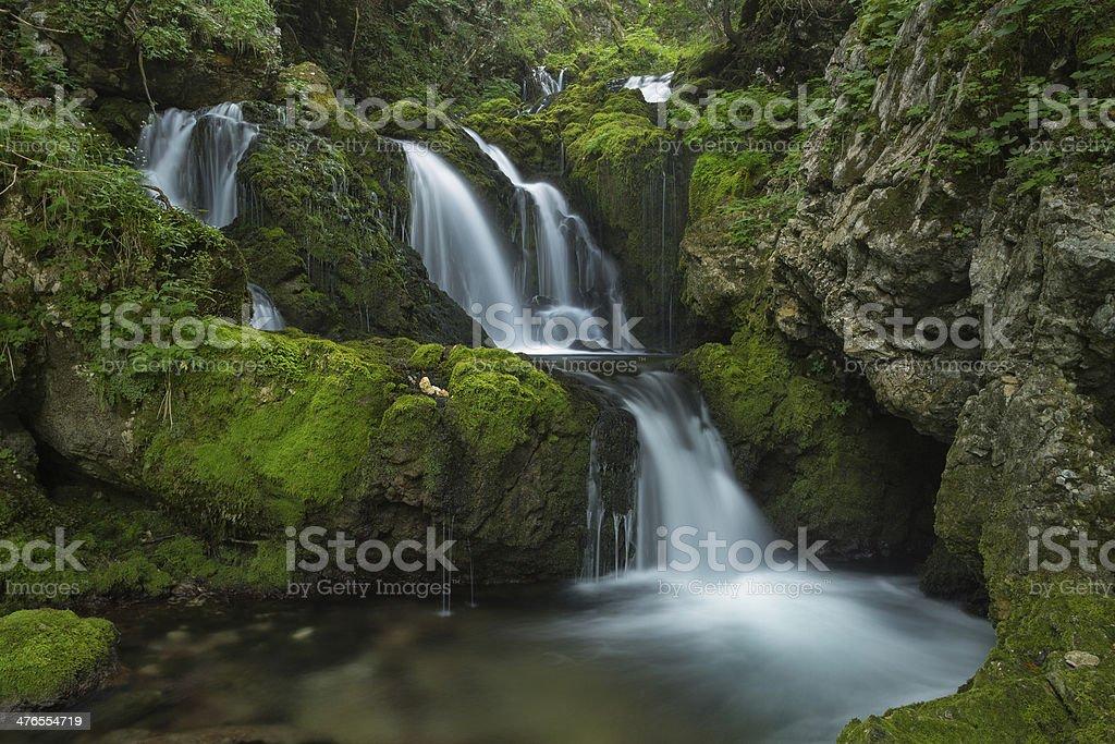 cascade Gorje stock photo