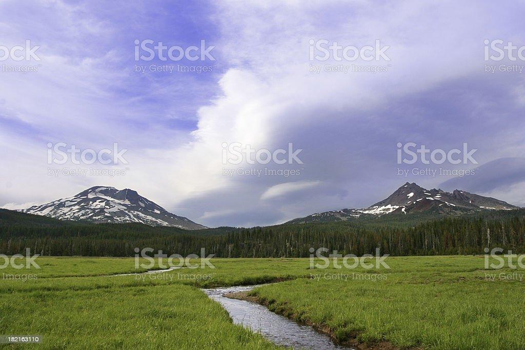 Cascade Meadow stock photo