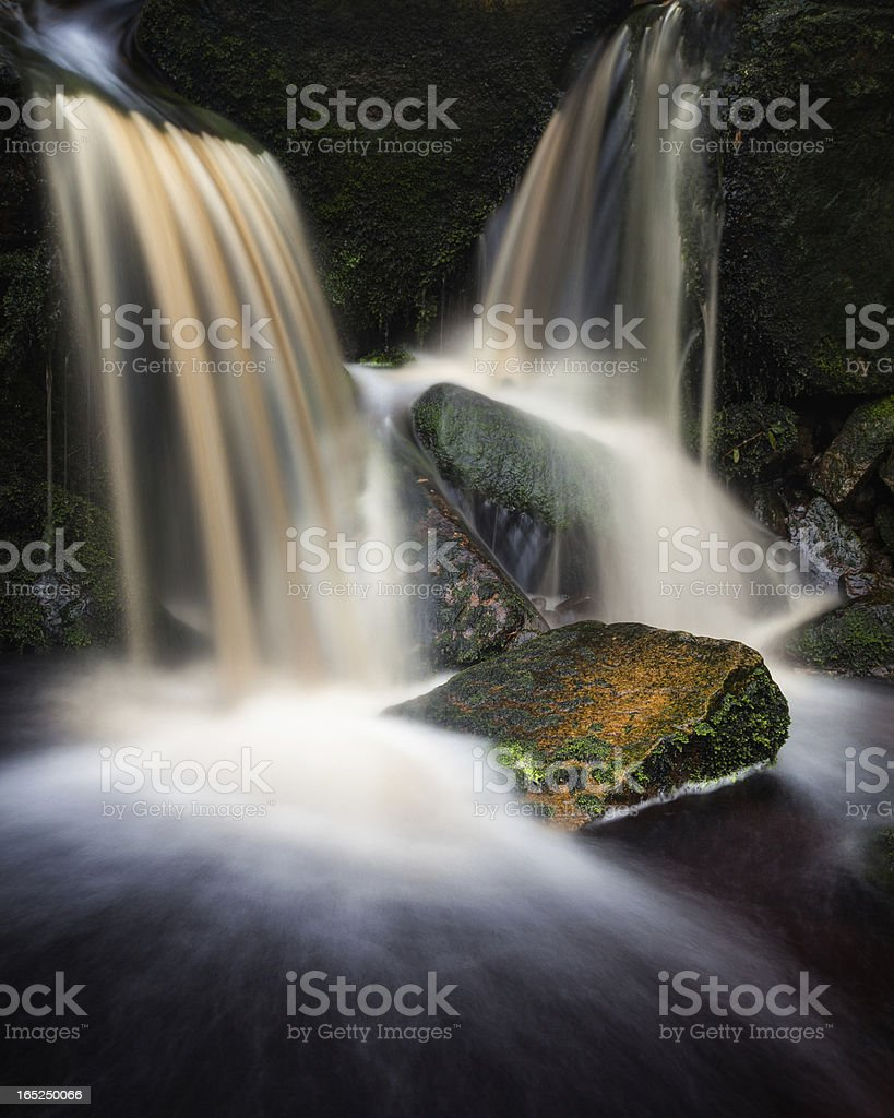 Cascade, Middle Black Clough royalty-free stock photo
