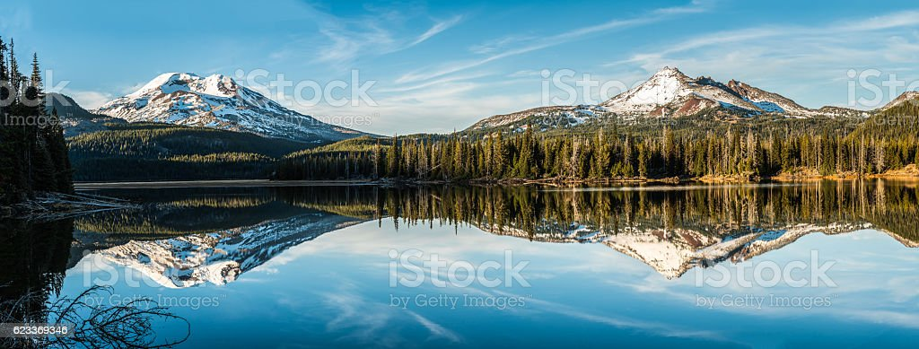 Cascade Mountain Wilderness stock photo