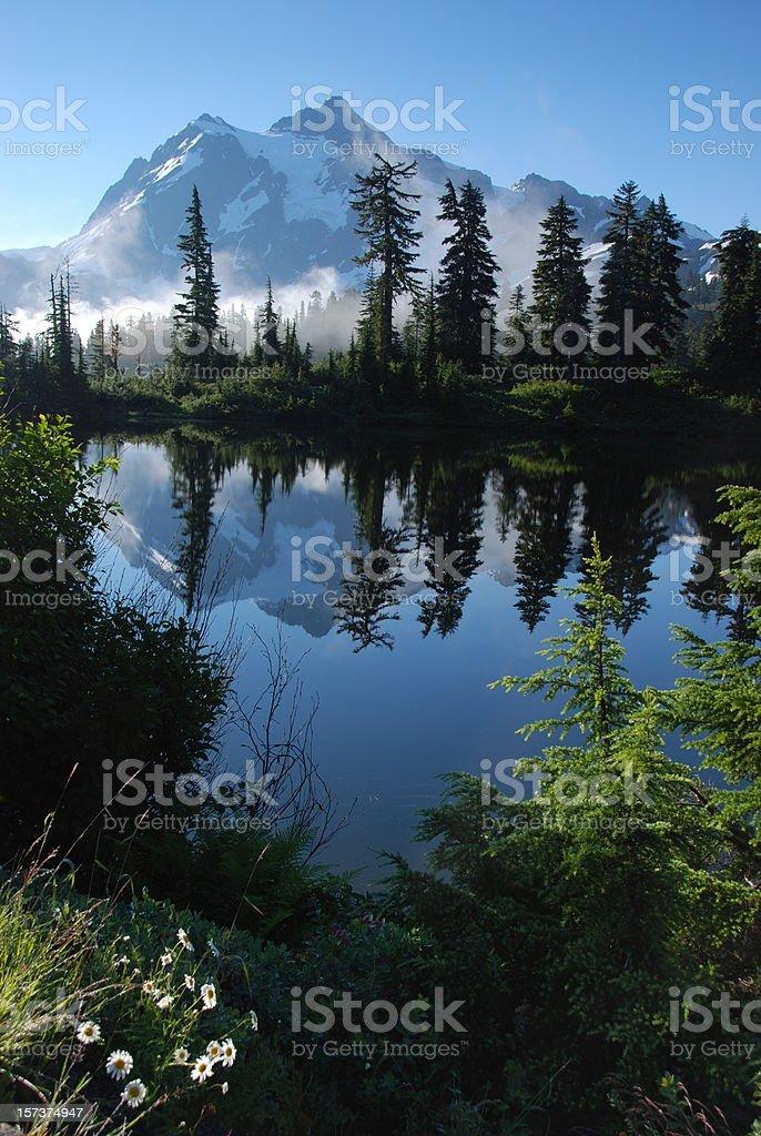 Cascade Moutians royalty-free stock photo