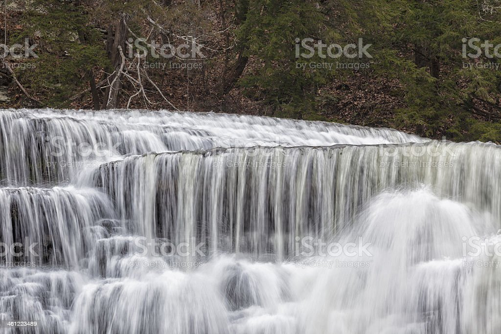 Cascade on the Falling Water River stock photo
