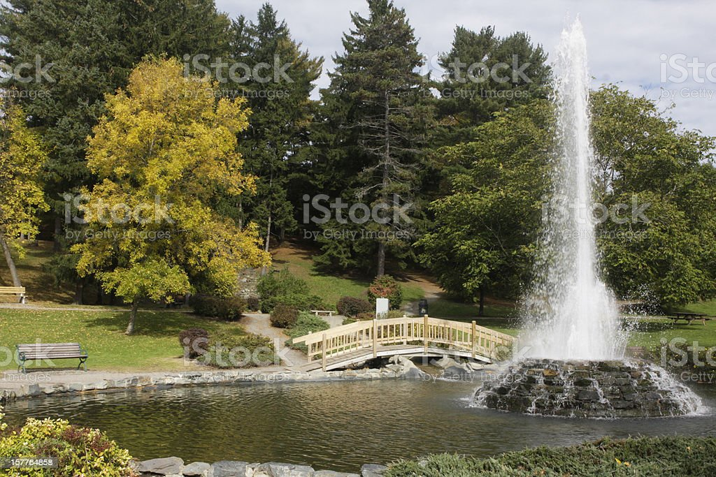 Cascade Park stock photo