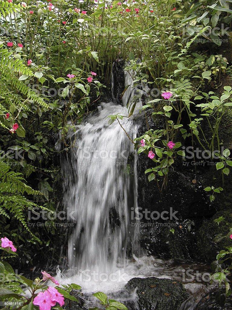 Cascade royalty-free stock photo