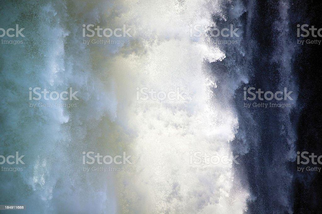 Cascade;  Victoria Falls stock photo