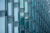 Cascaded windows of office building