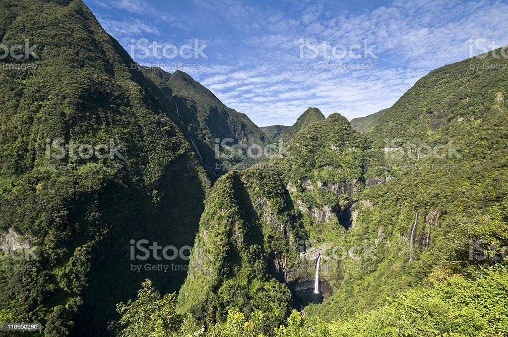 Cascades de Takamaka stock photo