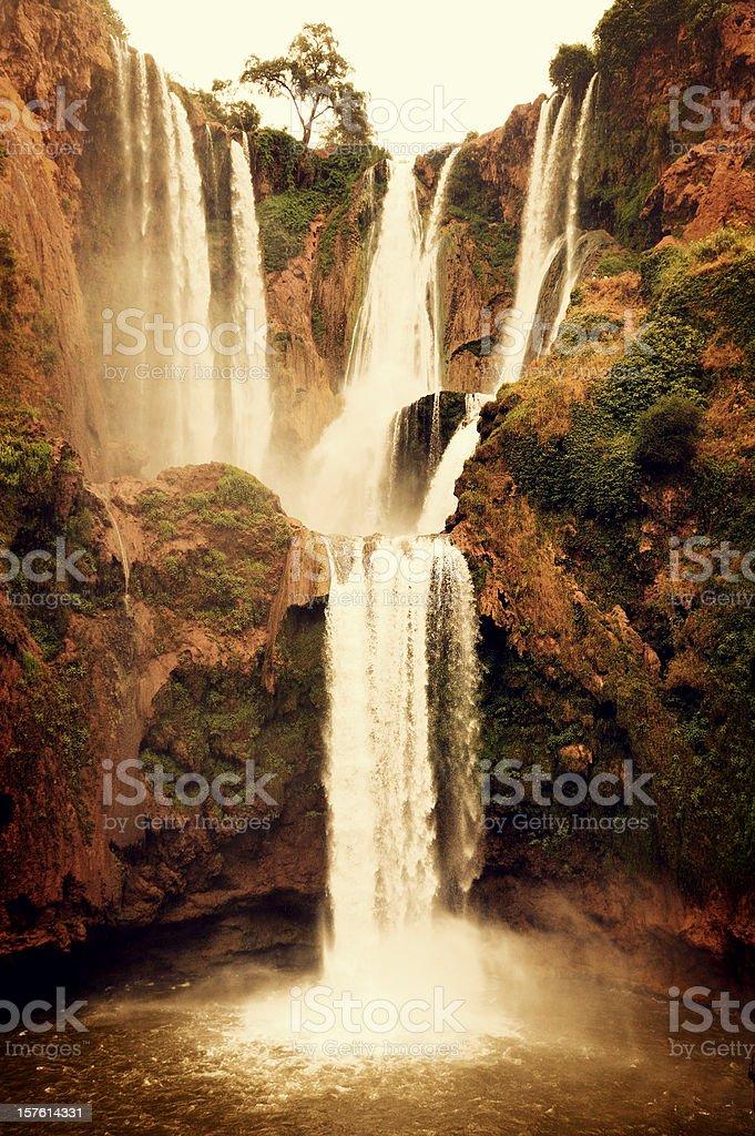 Cascades d'Ouzoud Waterfalls, Morocco stock photo