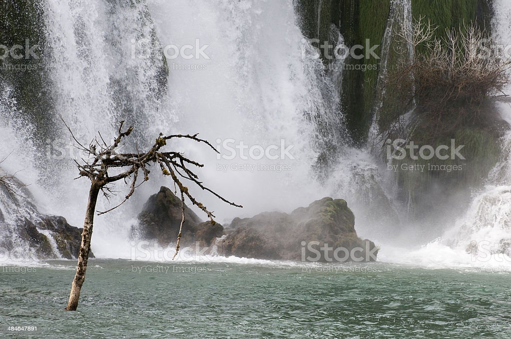 Cascades Kravice stock photo