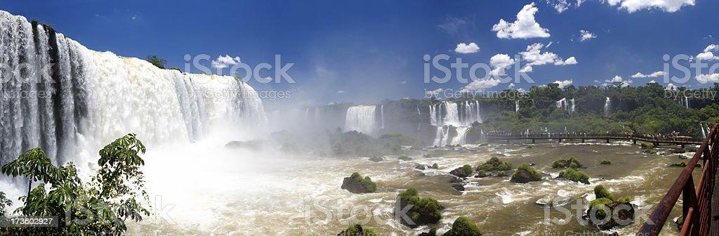 Cascades of Iguacu stock photo