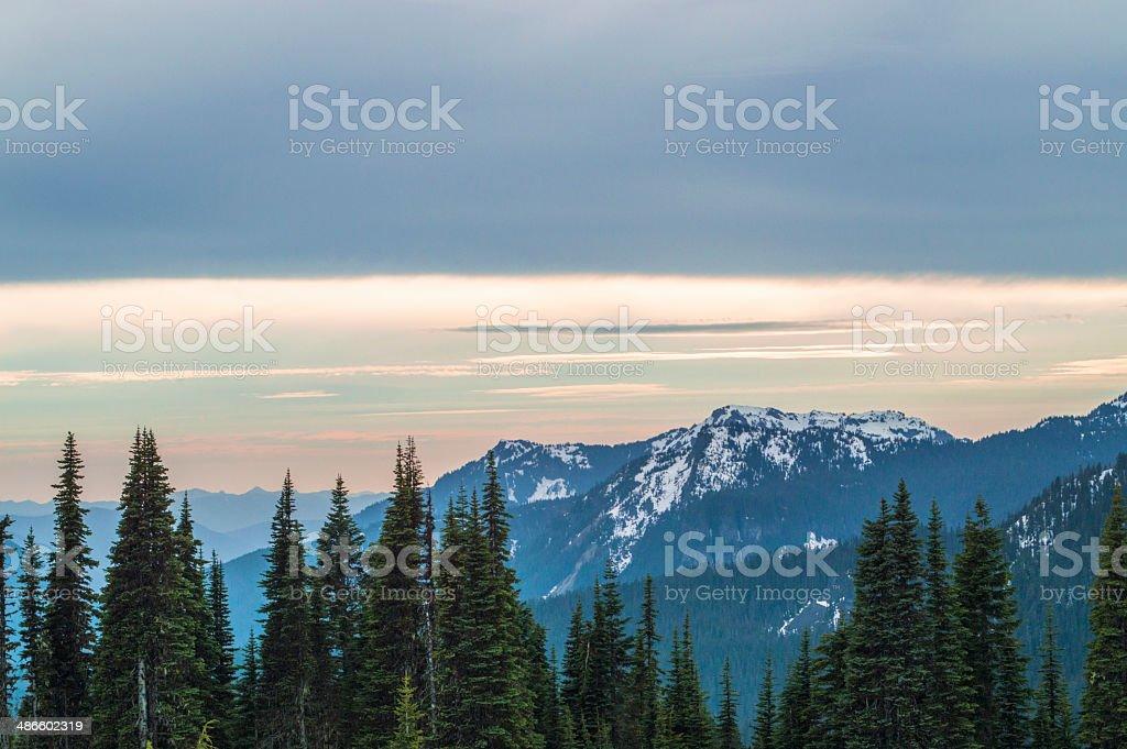 Cascades. royalty-free stock photo