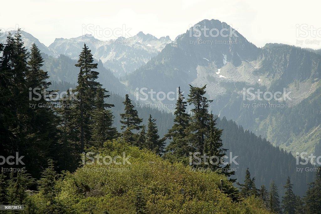 Cascades royalty-free stock photo