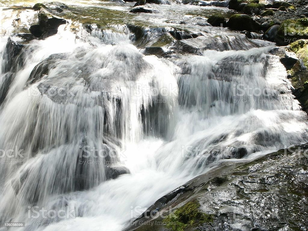 Cascading Falls stock photo