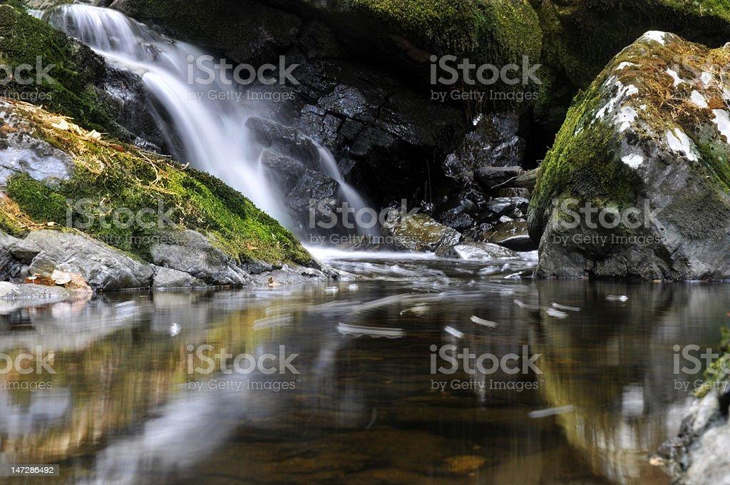 Em cascata grace foto royalty-free