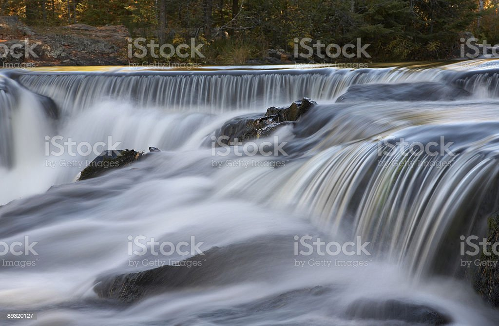 Cascading Waterfalls royalty-free stock photo