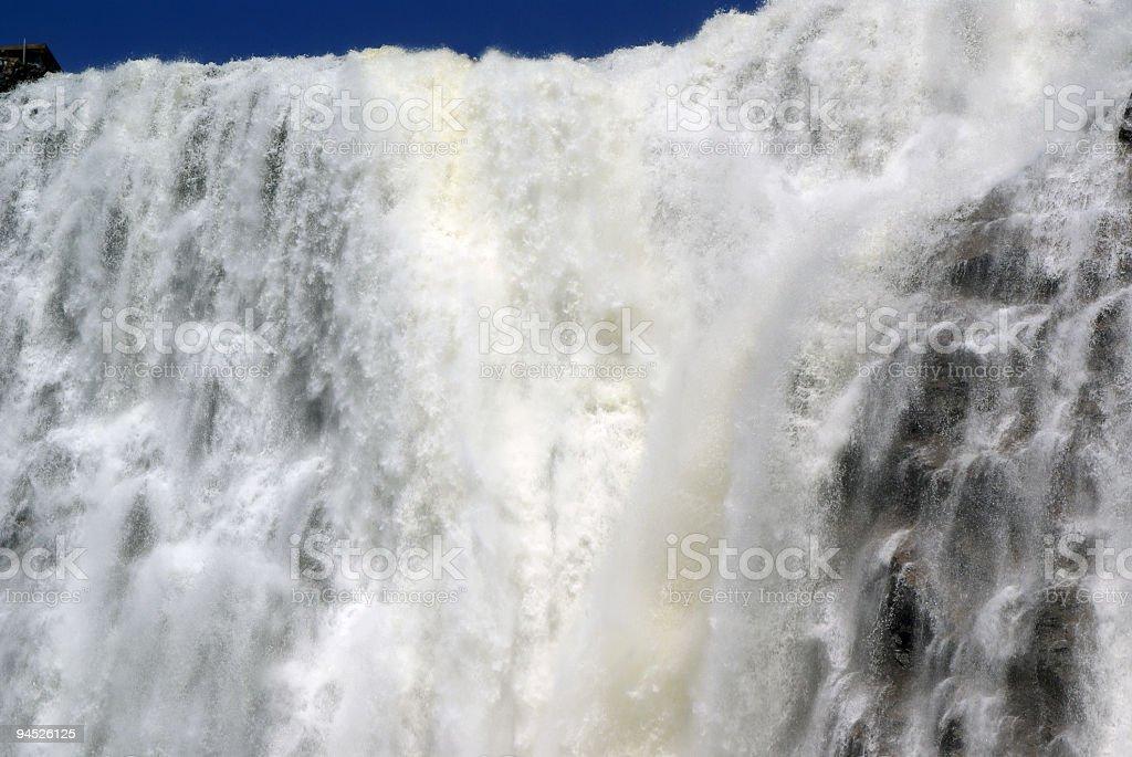 Cascading Waterfalls stock photo