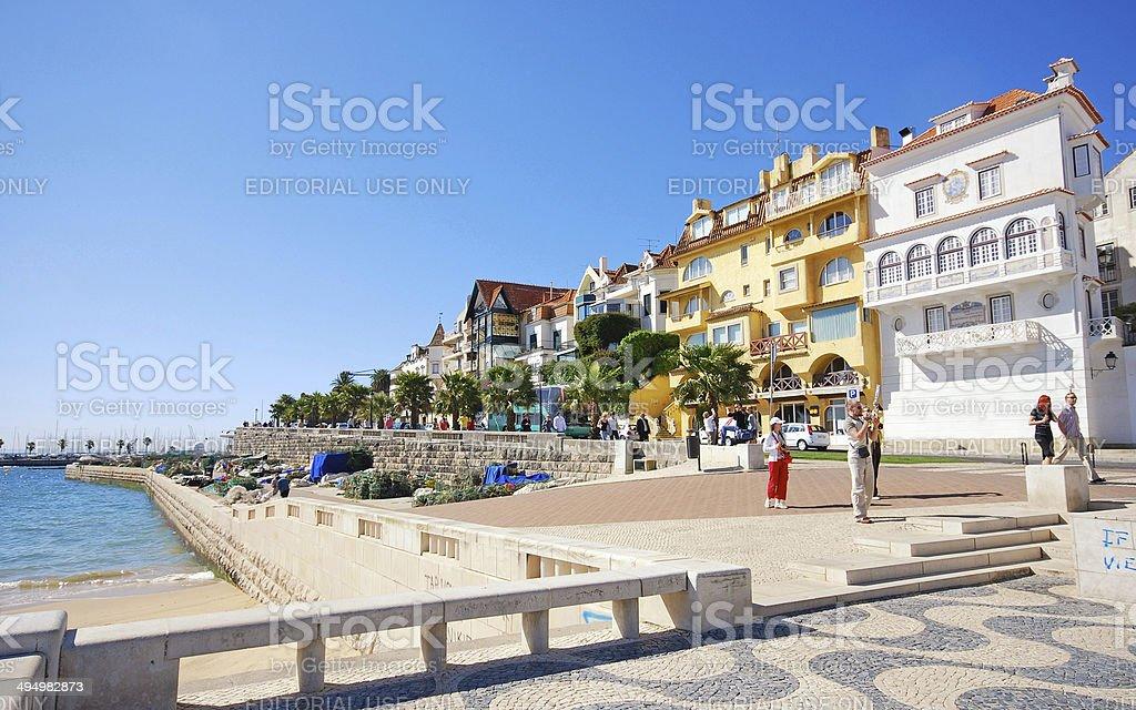 Cascais Coast, Lisbon, Portugal stock photo