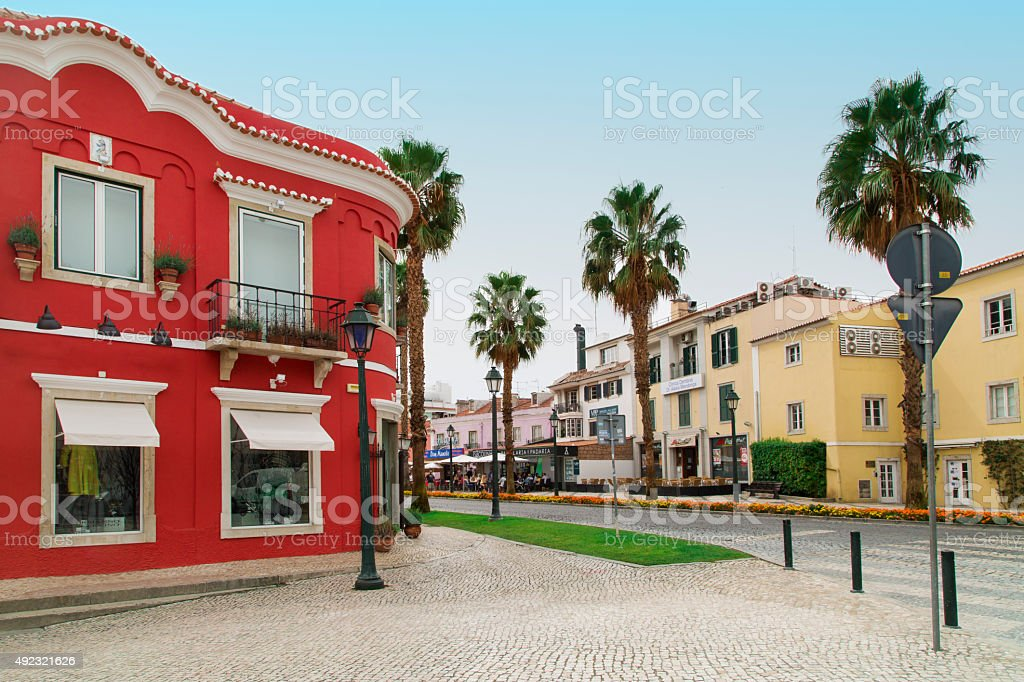 Cascais in Portugal stock photo