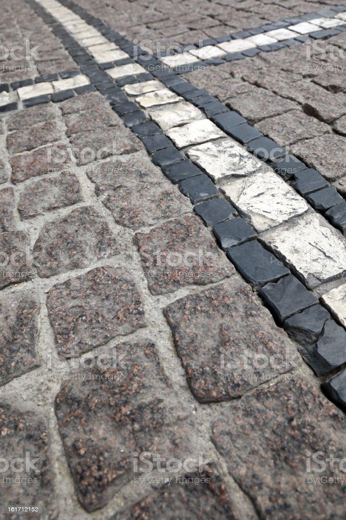 Cascais pavement stock photo