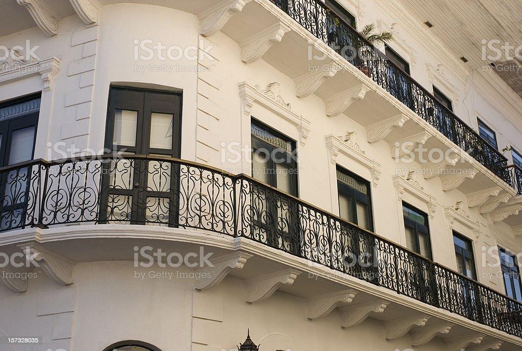 Casco Viejo Architecture royalty-free stock photo