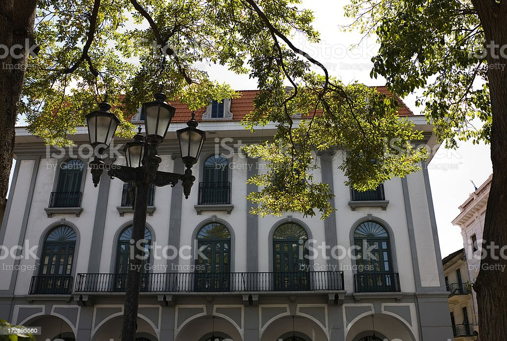 Casco Viejo street royalty-free stock photo