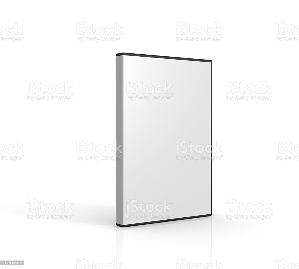 DVD Case 02 stock photo