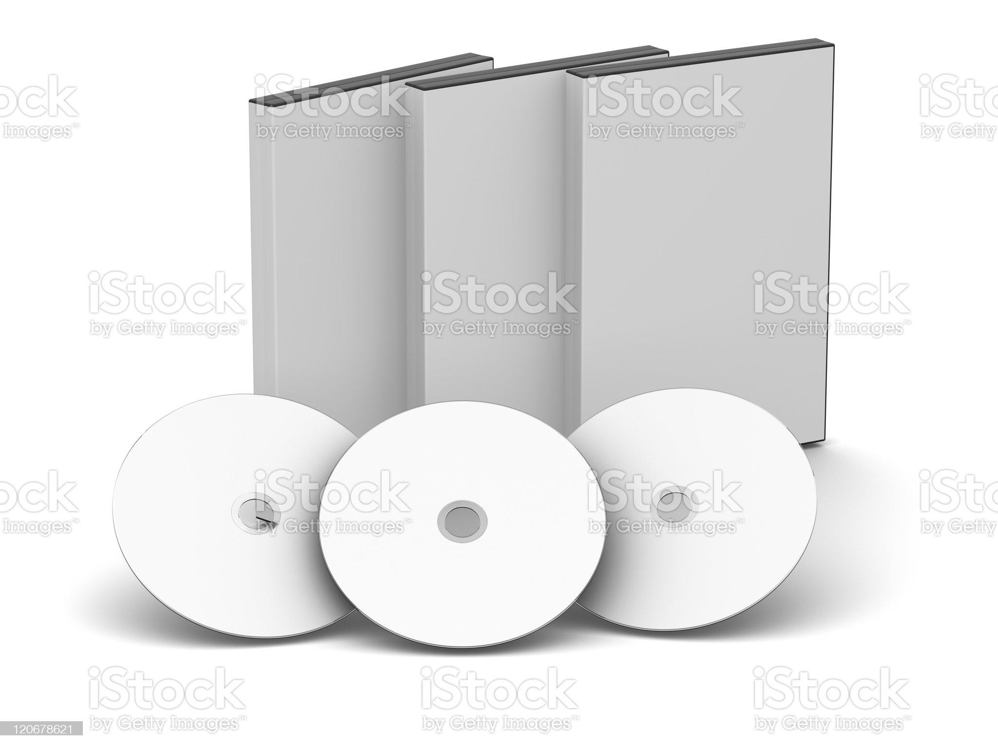 DVD Case - Blank royalty-free stock photo