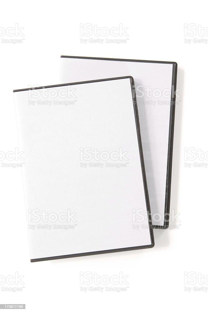 DVD case(w/path) royalty-free stock photo