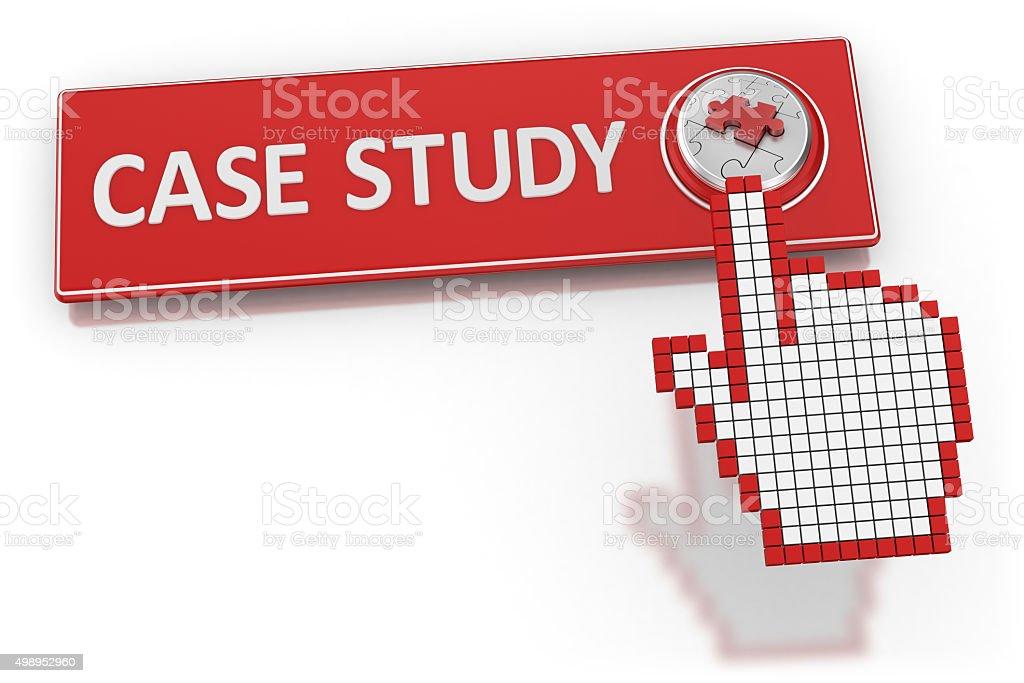 Case Study - Button stock photo