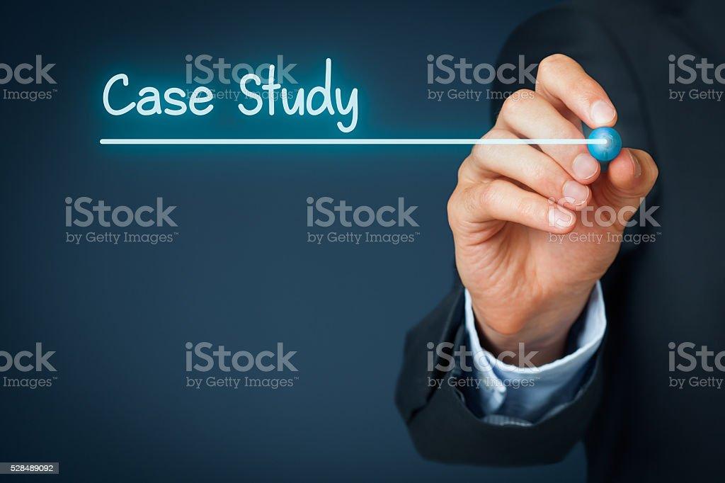 Case study stock photo