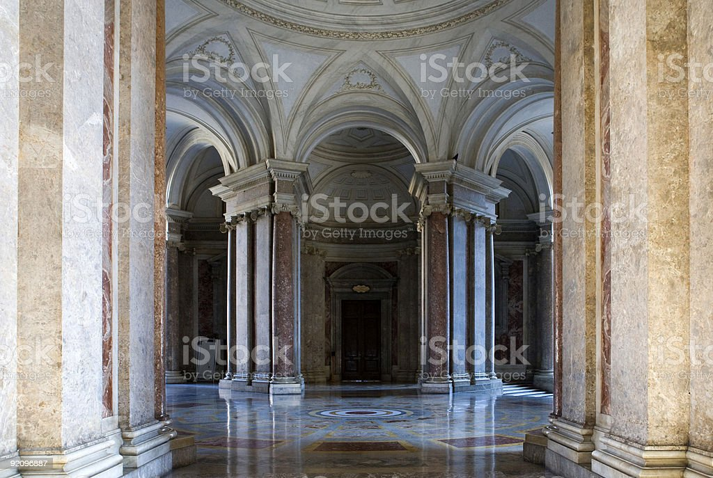 Caserta royalty-free stock photo