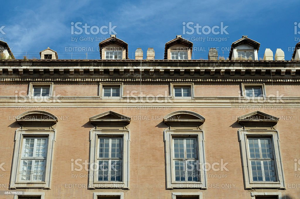 Caserta Royal Palace exterior stock photo