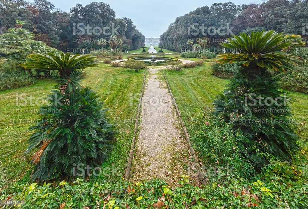 Caserta Royal Palace. stock photo