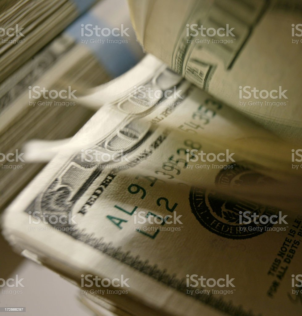 Cash 13 royalty-free stock photo