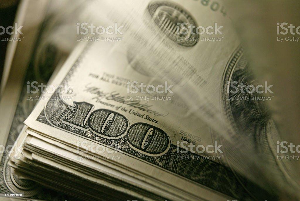 Cash 9 royalty-free stock photo