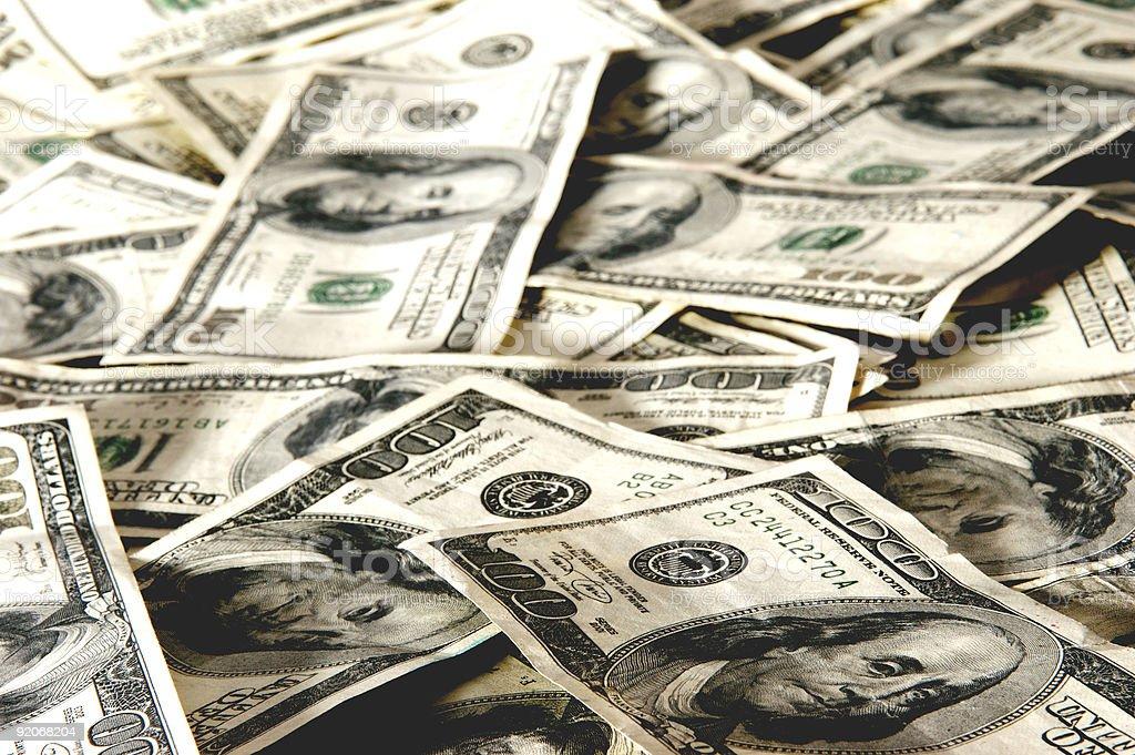 Cash Background royalty-free stock photo