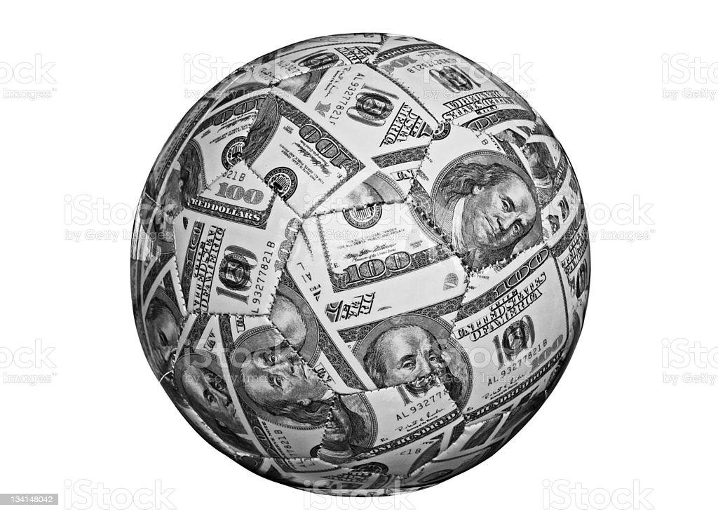 cash ball royalty-free stock photo